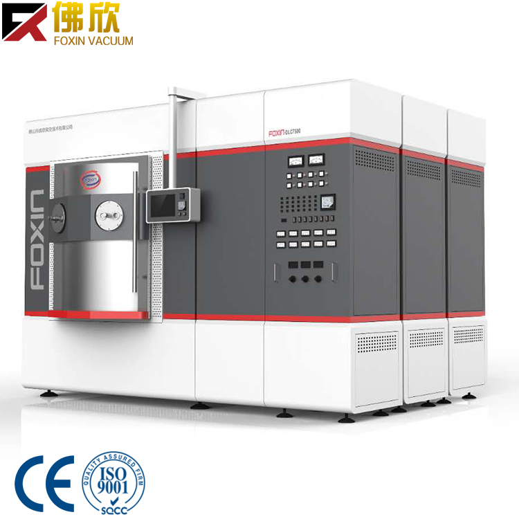 China foxin manufacturer magnetron sputtering machine for sale for stainless steel jewelry