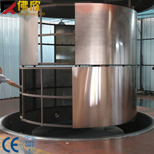 FOXIN-ZJ metal coating machines large coating machine for stainless steel and furniture
