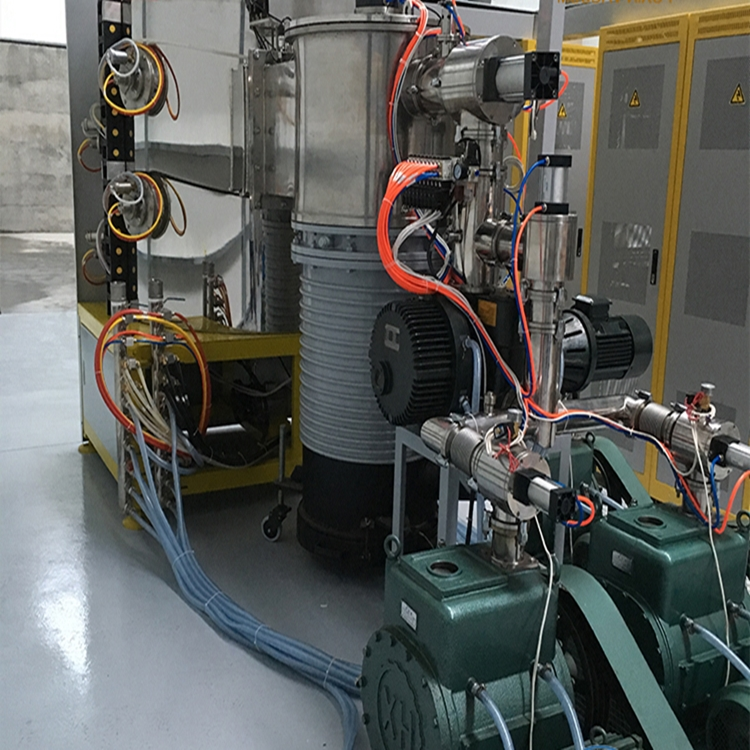 Prime quality vaccum coating machine  for stainless steel auto parts