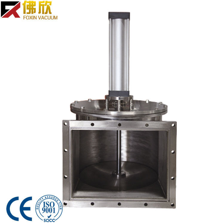 stainless steel high valve for high vacuum pump